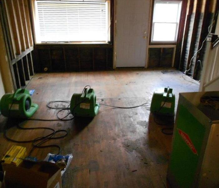 Storm water floods entire floor of perry hall home with muddy water